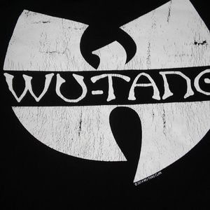Wu-Tang Black crop long sleeve tshirt